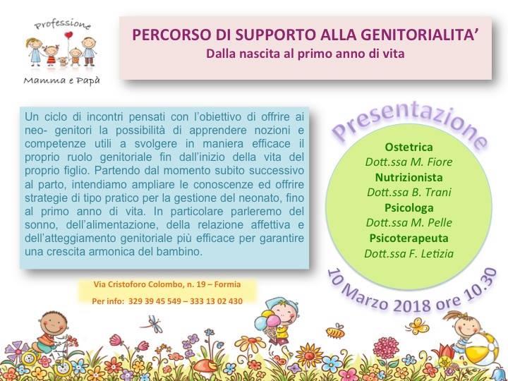 Percorso di Supporto alla Genitorialità